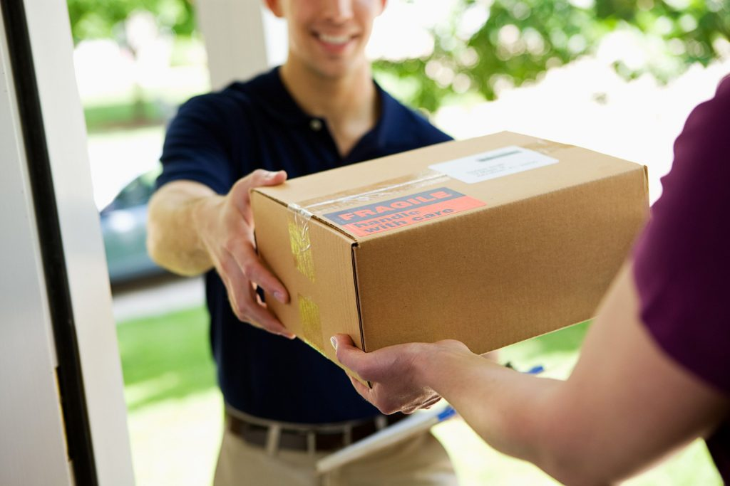 What does a courier do?